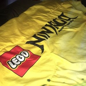 Movie screen reversible blanket ninja GQ